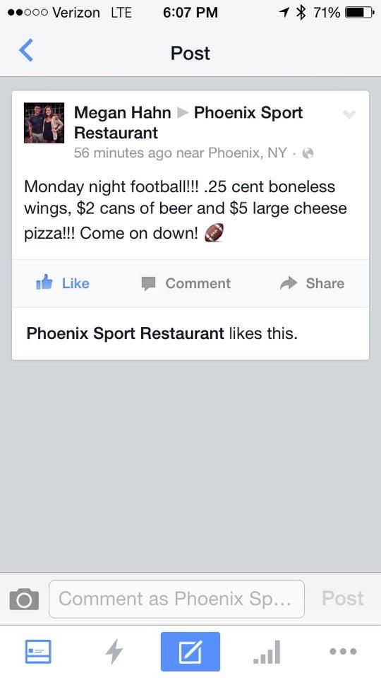 Phoenix Sports Restaurant,