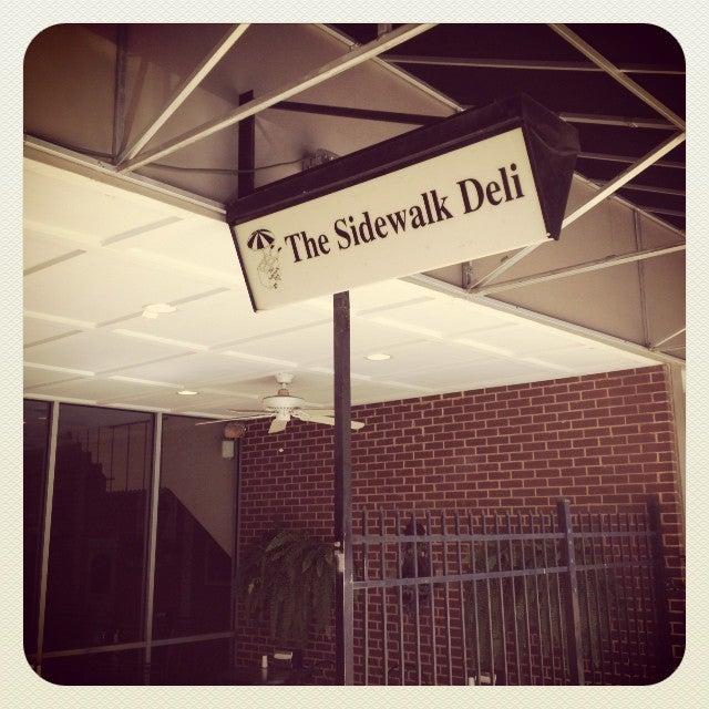Sidewalk Deli,