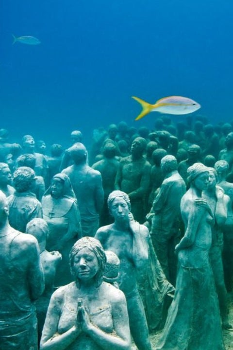 Reviews Of Kid Friendly Attraction Musa Underwater Museum Cancun Mexico Minitime