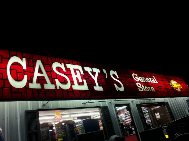 Casey's General Store,breakfast pizza,candy,cappuccino,coffee,convenience store,doughnuts,gas,gas station,pizza,sandwiches