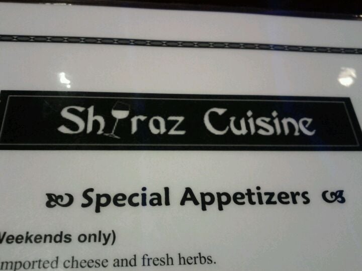 Shiraz Cuisine,persian