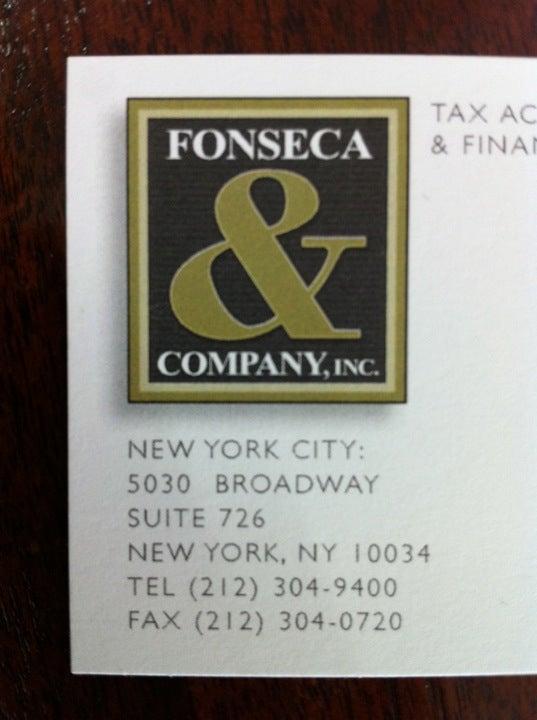 Fonseca & Company Inc,