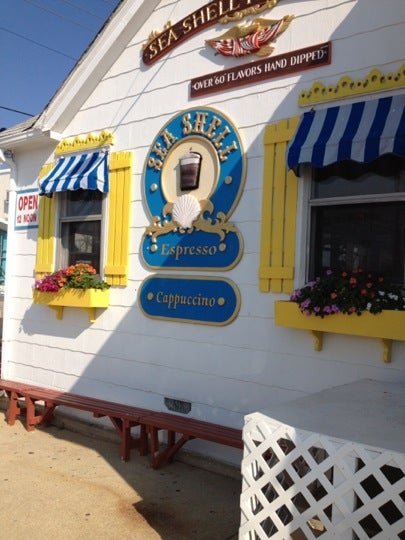 Sea Shell Ice Cream Parlor,