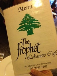 The Prophet Lebanese Cafe