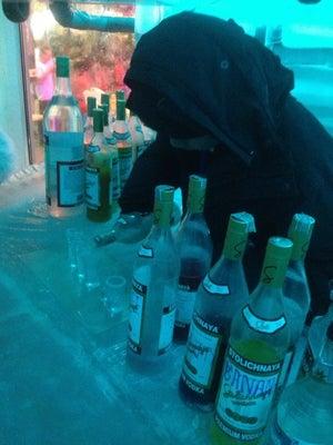 V2o Ice Bar