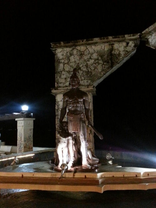 Two Cultures Monument