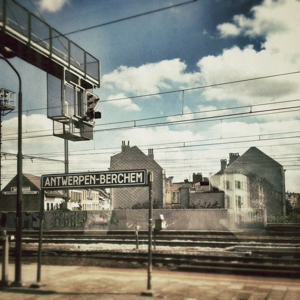 Station van Anvers-Berchem