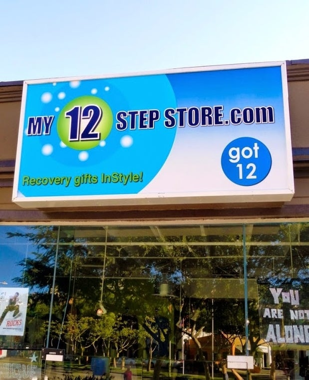 Photo of My 12 Step Store