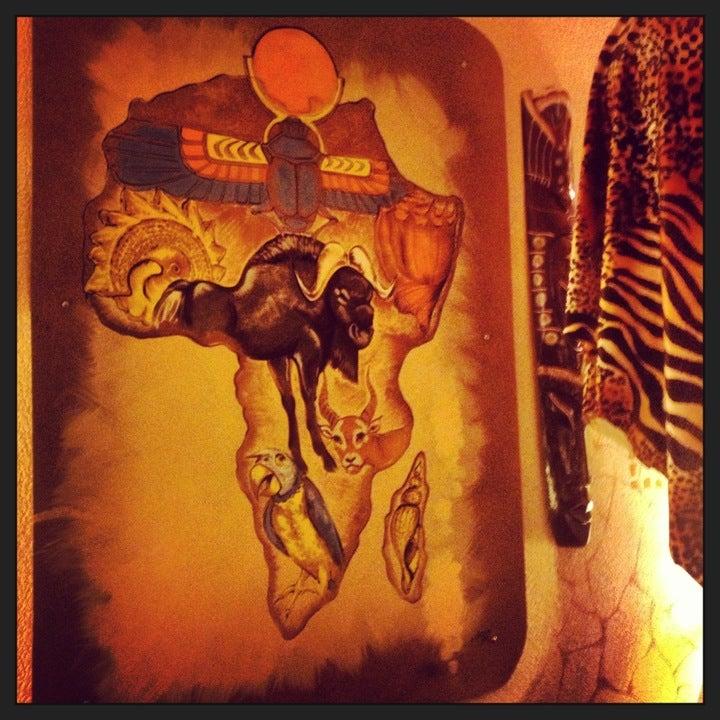 Арт-кафе «Африка» на Печатника Григорьева ул 13 фото №2