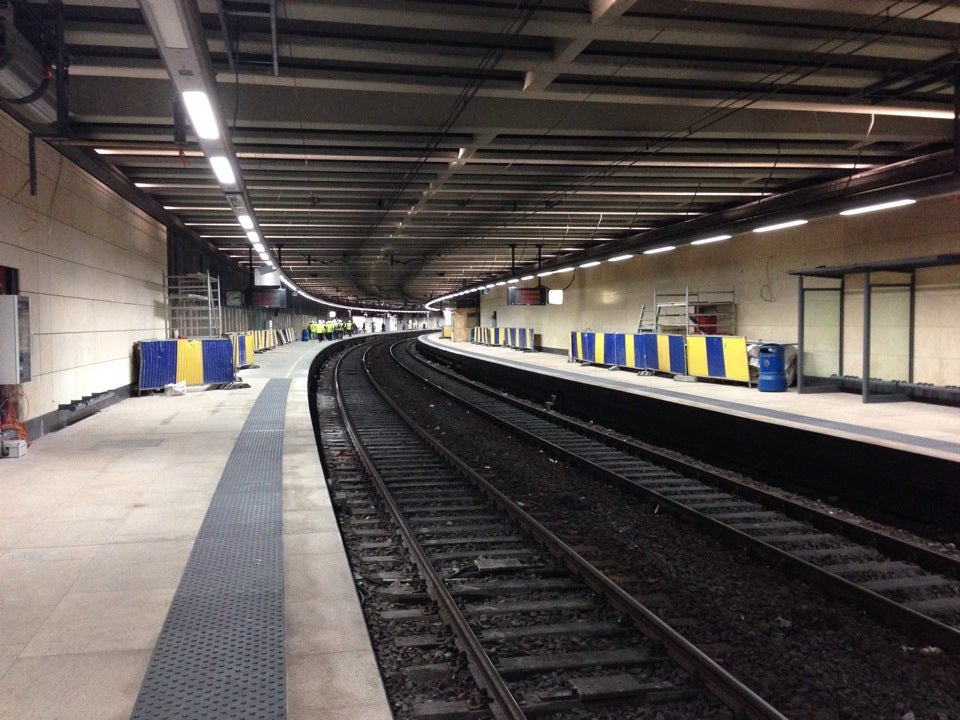 Station van Bruxelles-Schuman