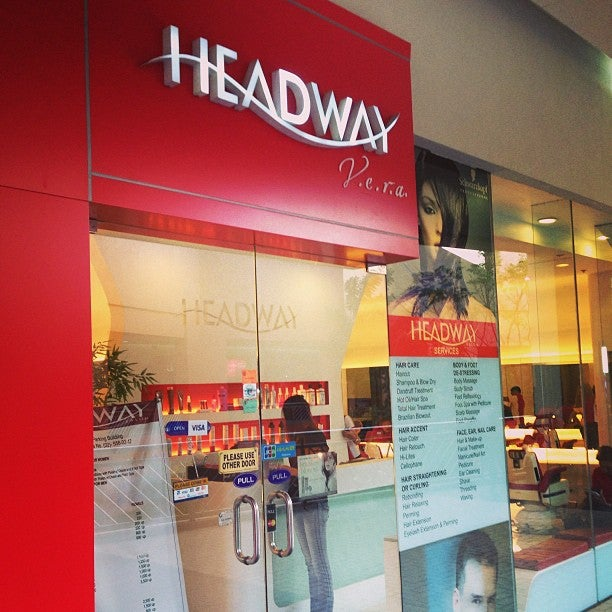 thanks headway salon for my haircut last week in sm moa