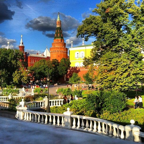 Alexander Gardens (alexandrovsky Sad)