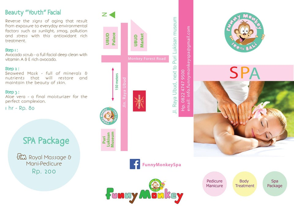 Funny Monkey Spa & Juice Bar Bali Map,Map of Funny Monkey Spa & Juice Bar Bali,Things to do in Bali Island,Tourist Attractions in Bali,Funny Monkey Spa & Juice Bar Bali accommodation destinations attractions hotels map reviews photos pictures
