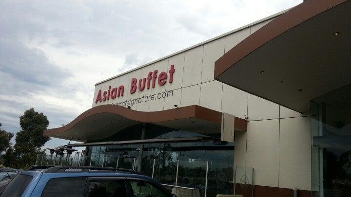 China Bar Signature Asian Buffet