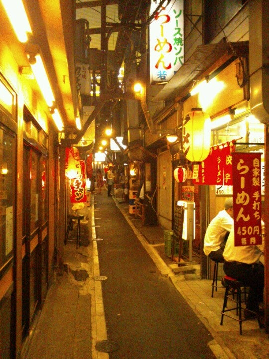 Piss Alley (also known as Omoide Yokocho or Memory Lane)