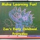 Zan's Early Childhood Printables