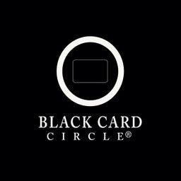 Black Card Circle